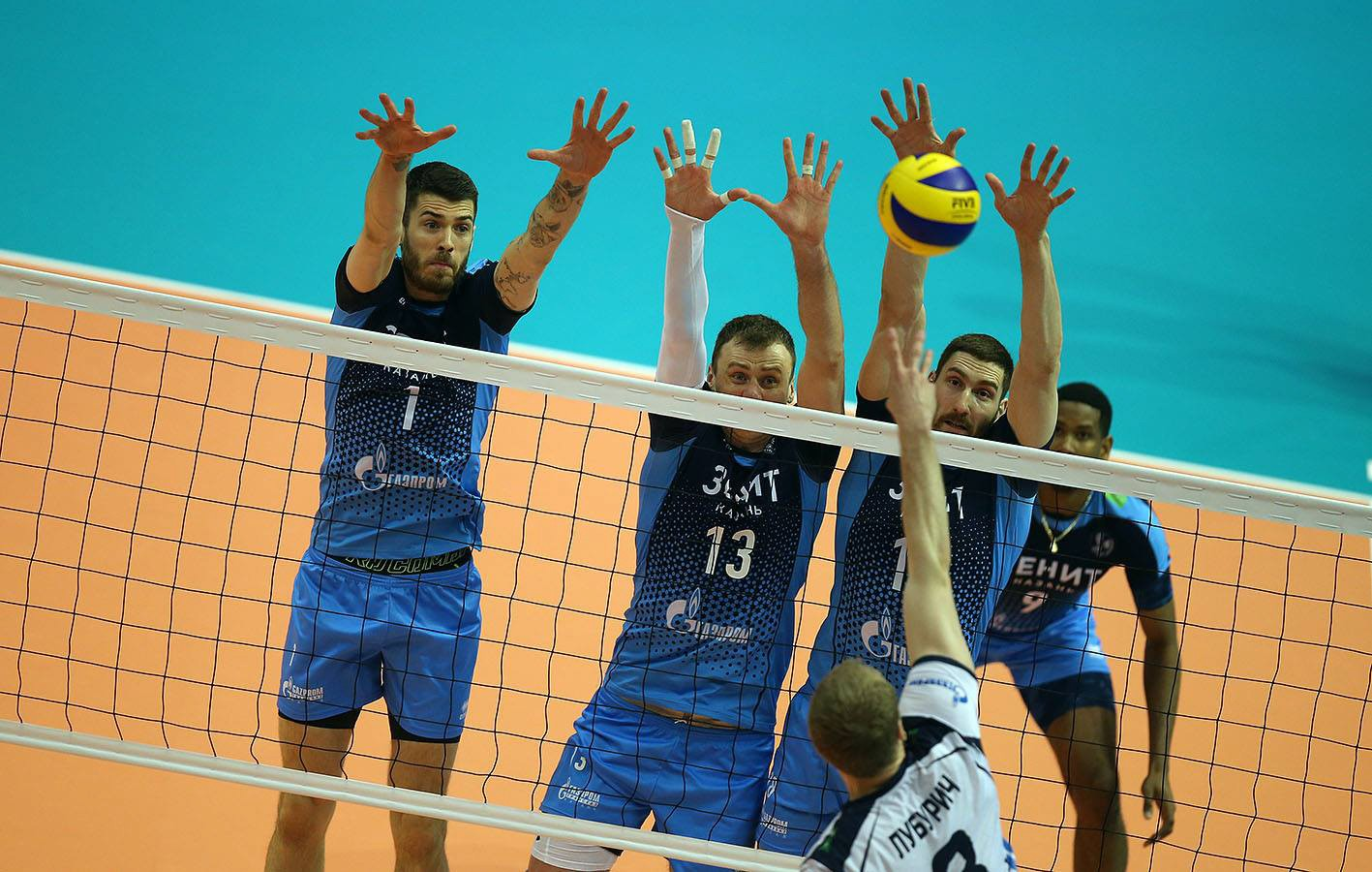 12 - 13 May sees the Final Four of the Volleyball Champions League 2018. Zenit Kazan play at home!