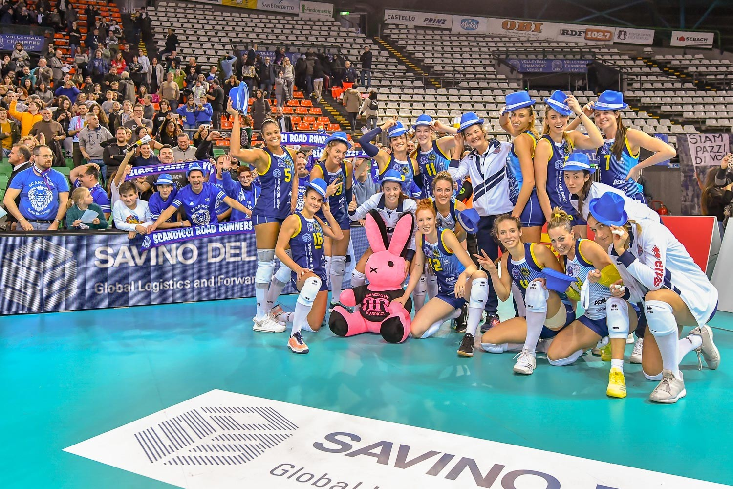 A winning début appearance in the Champions League for Savino Del Bene!!!