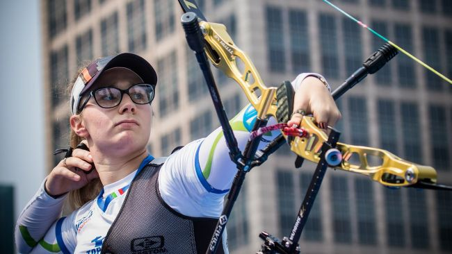 Archery: Vanessa Landi takes bronze in the first round of the World Cup in Shanghai!