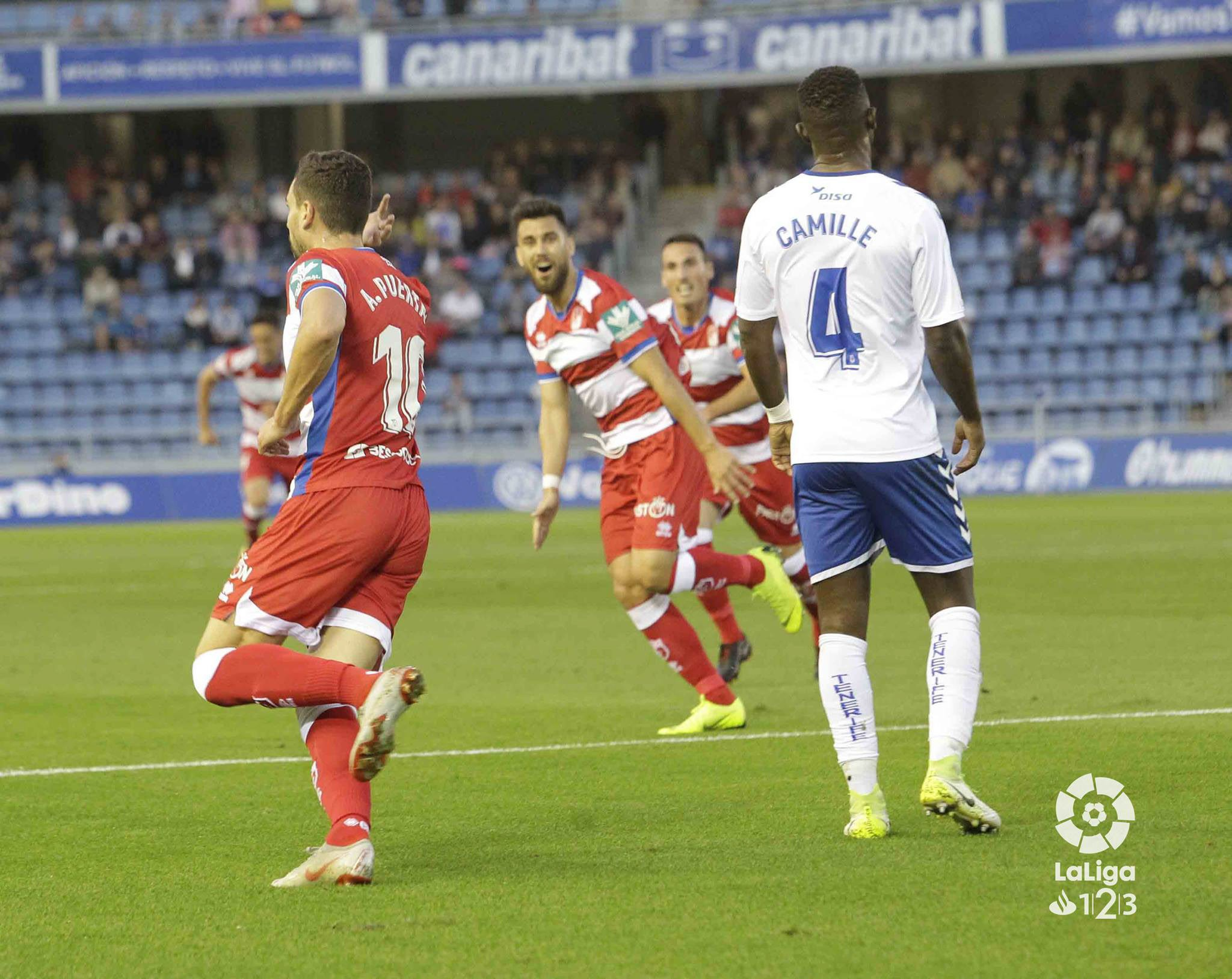 CF Granada maintain their lead at the top of the table and take on second-placed Albacete!