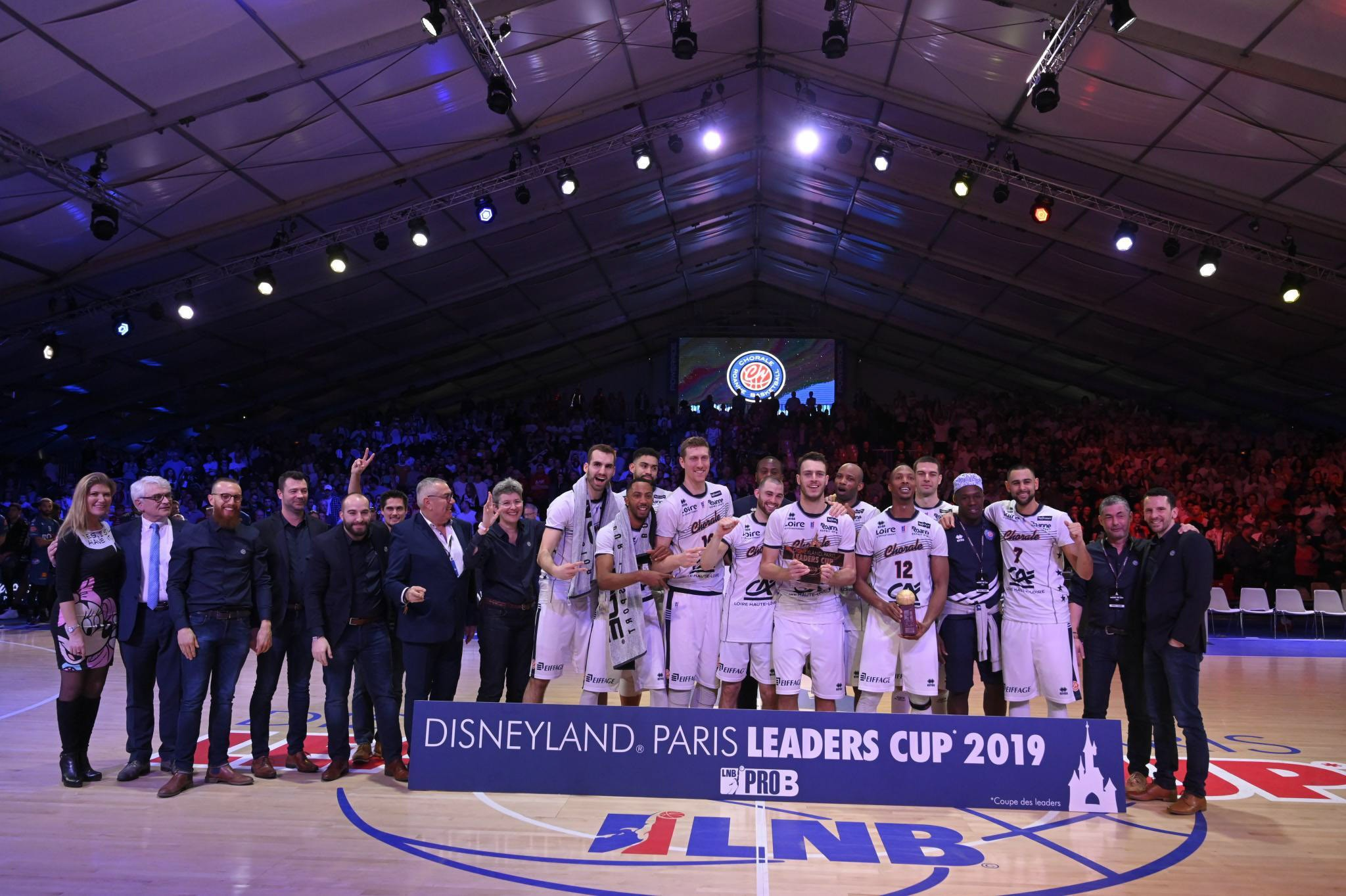 Chorale Roanne Basket win their second Leaders Cup!