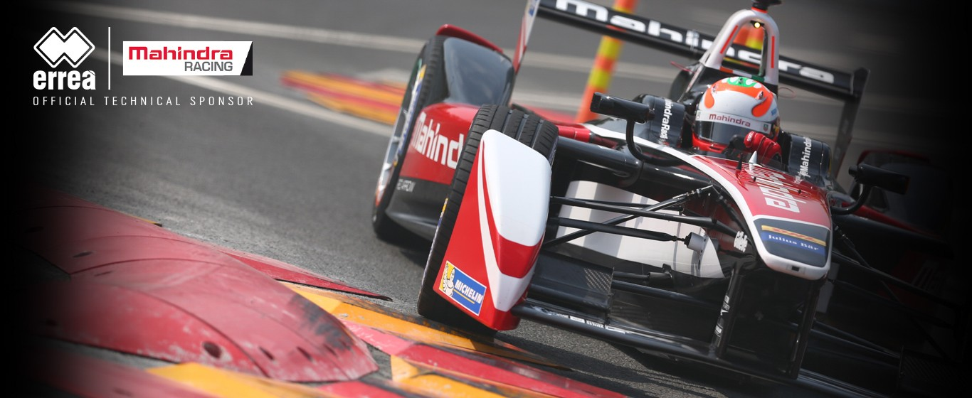 Erreà is the new technical partner for the Mahindra Racing Formula E Team