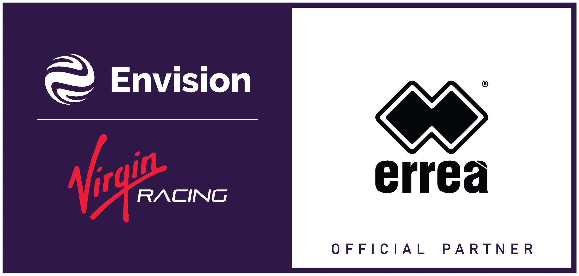 Erreà Sport is the new Official Team Clothing Partner & Merchandiser of the Envision Virgin Racing Formula E Team