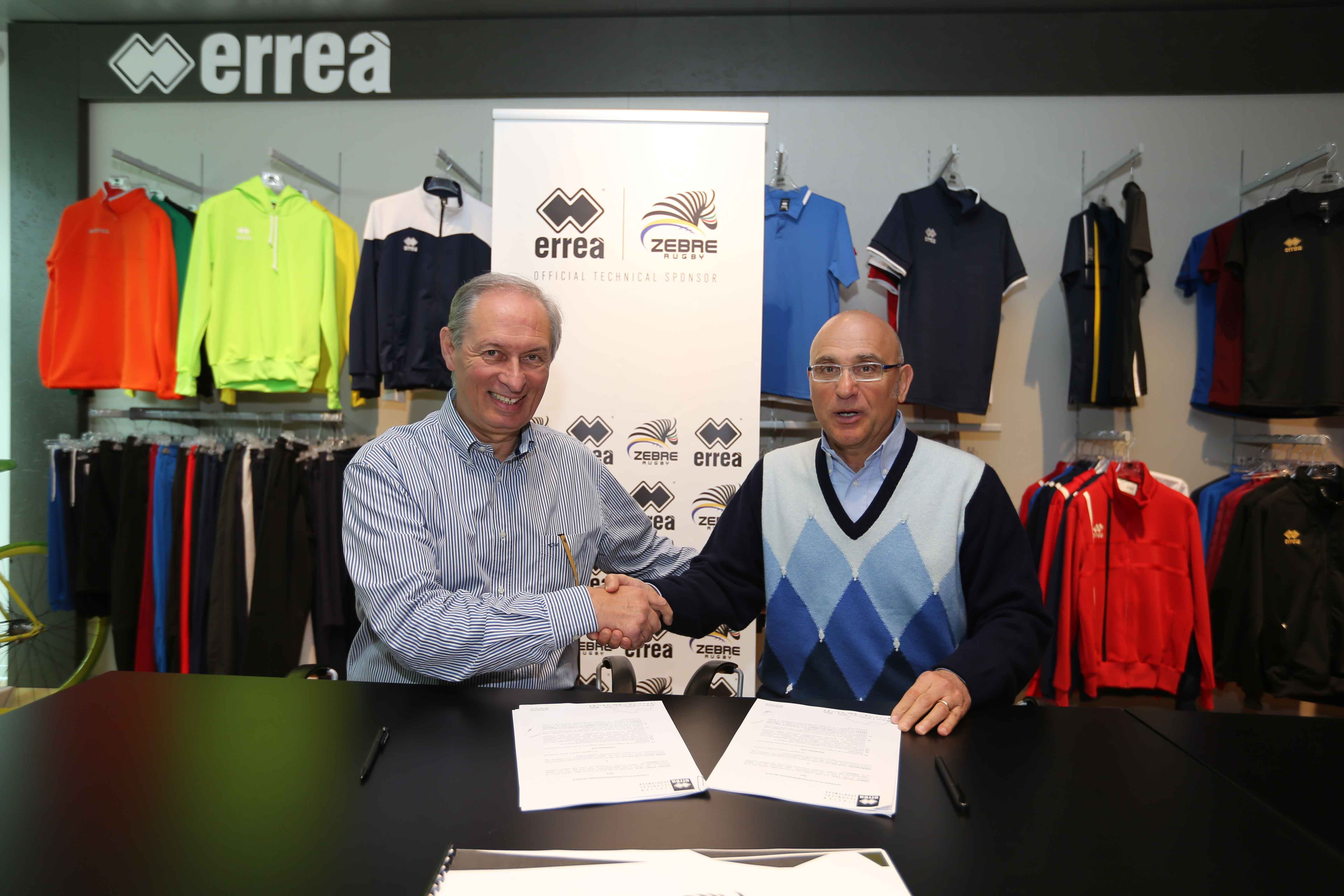 Erreà Sport will continue kitting out Zebre Rugby Club: the technical partnership agreement has been renewed!