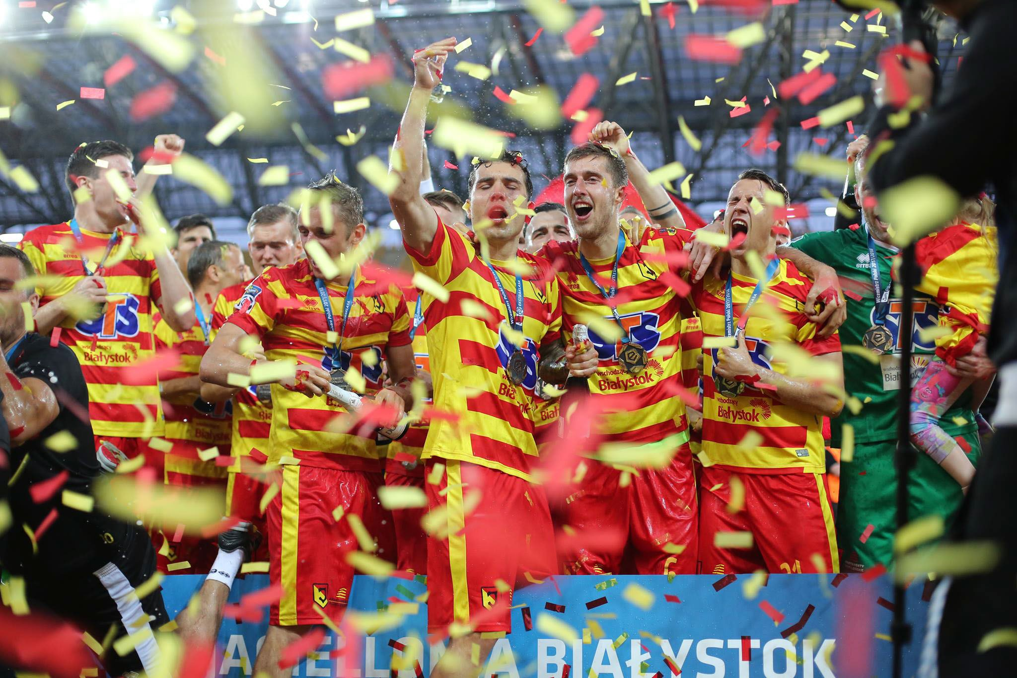 For the second consecutive year Jagiellonia finished runners up in the top tier of Polish football!