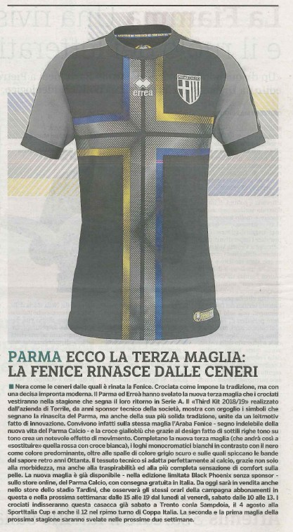 Gazzetta di Parma - 26 July 2018