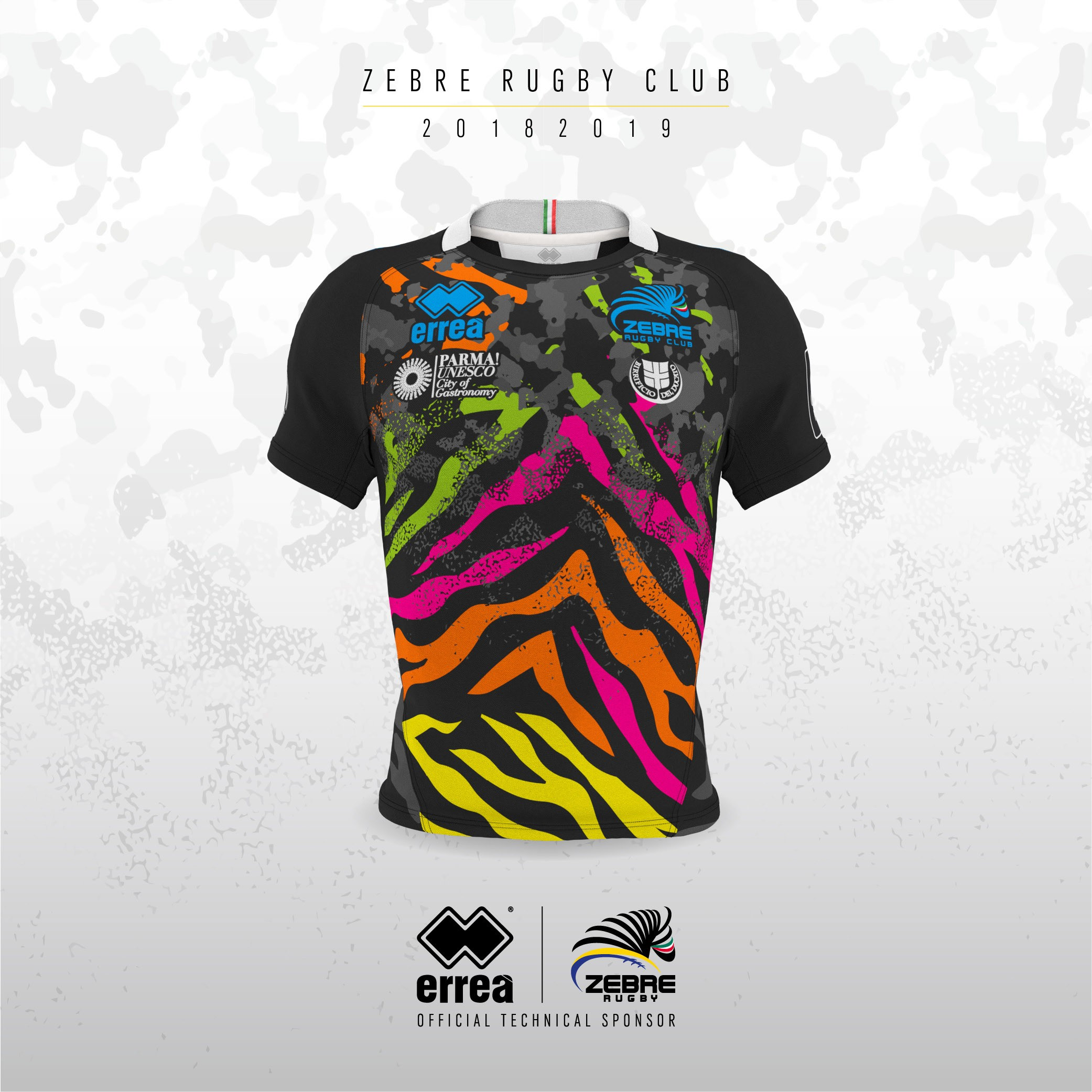 Glasgow hosts the presentation of the Guinness Pro 14: Zebre unveil their new first team kit