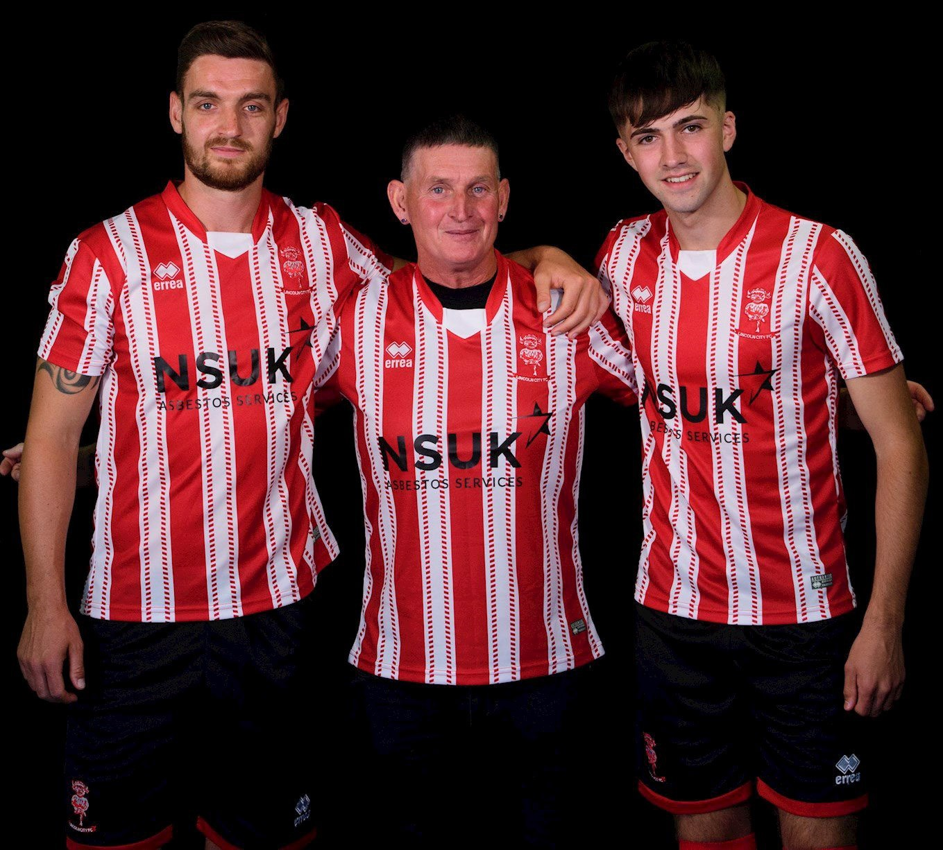 Lincoln City Football Club unveils its new 2018-2019 home kit by Erreà Sport