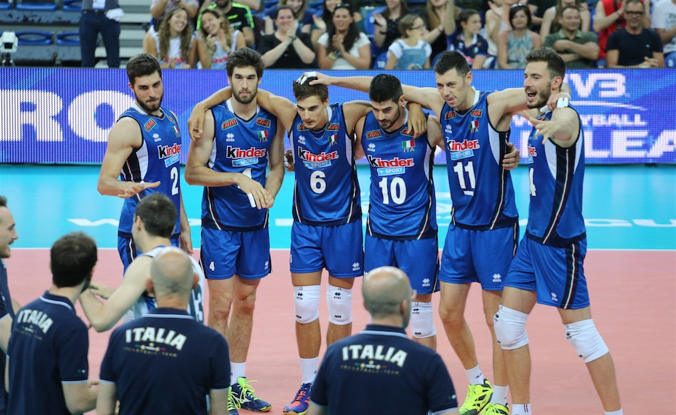 The Men's European Volleyball Championship is being held in Poland from 24 August to 3 September