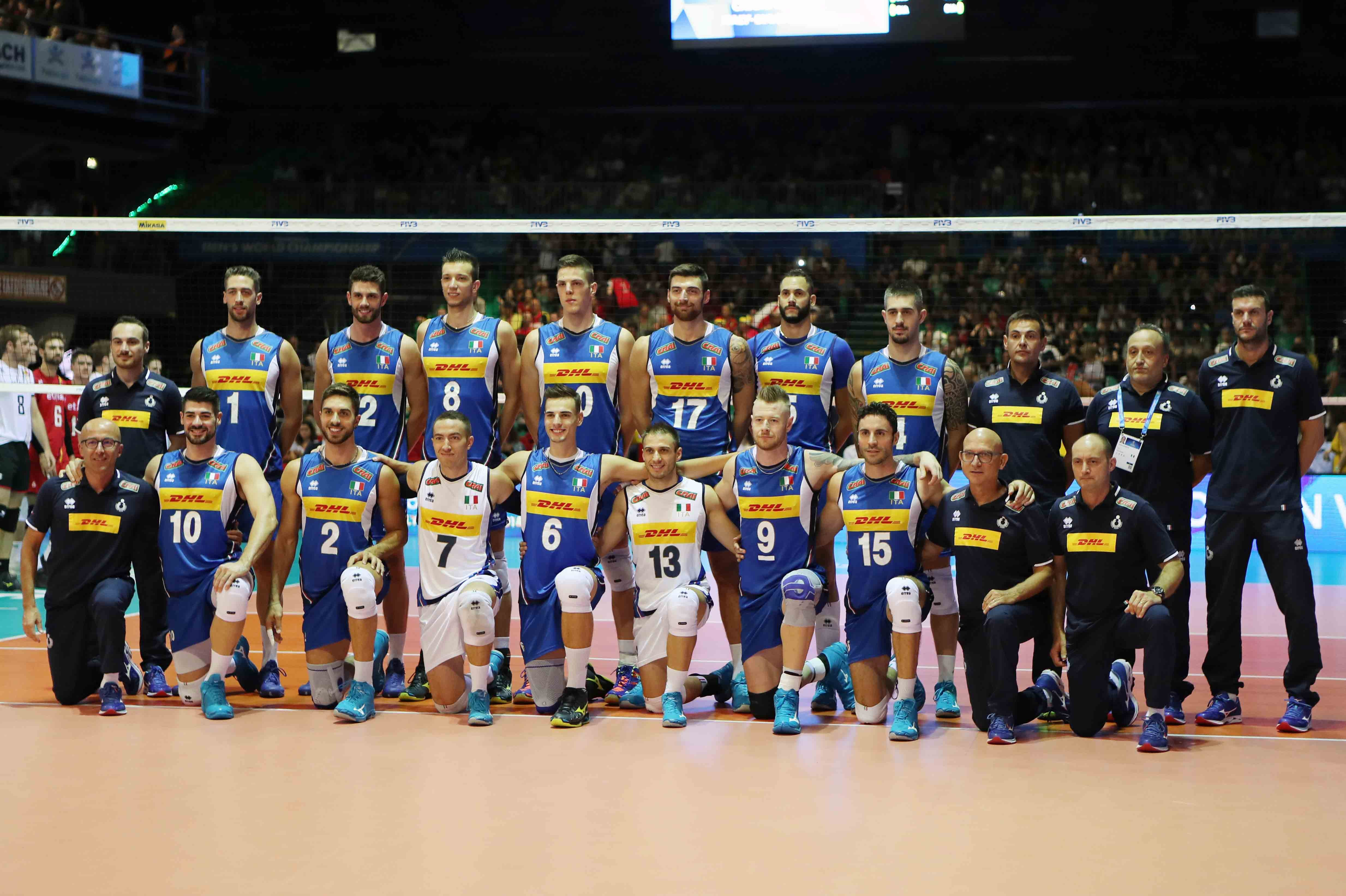 Volleyball World Championships: Italy in the Final Six!!! The draw and the schedule!