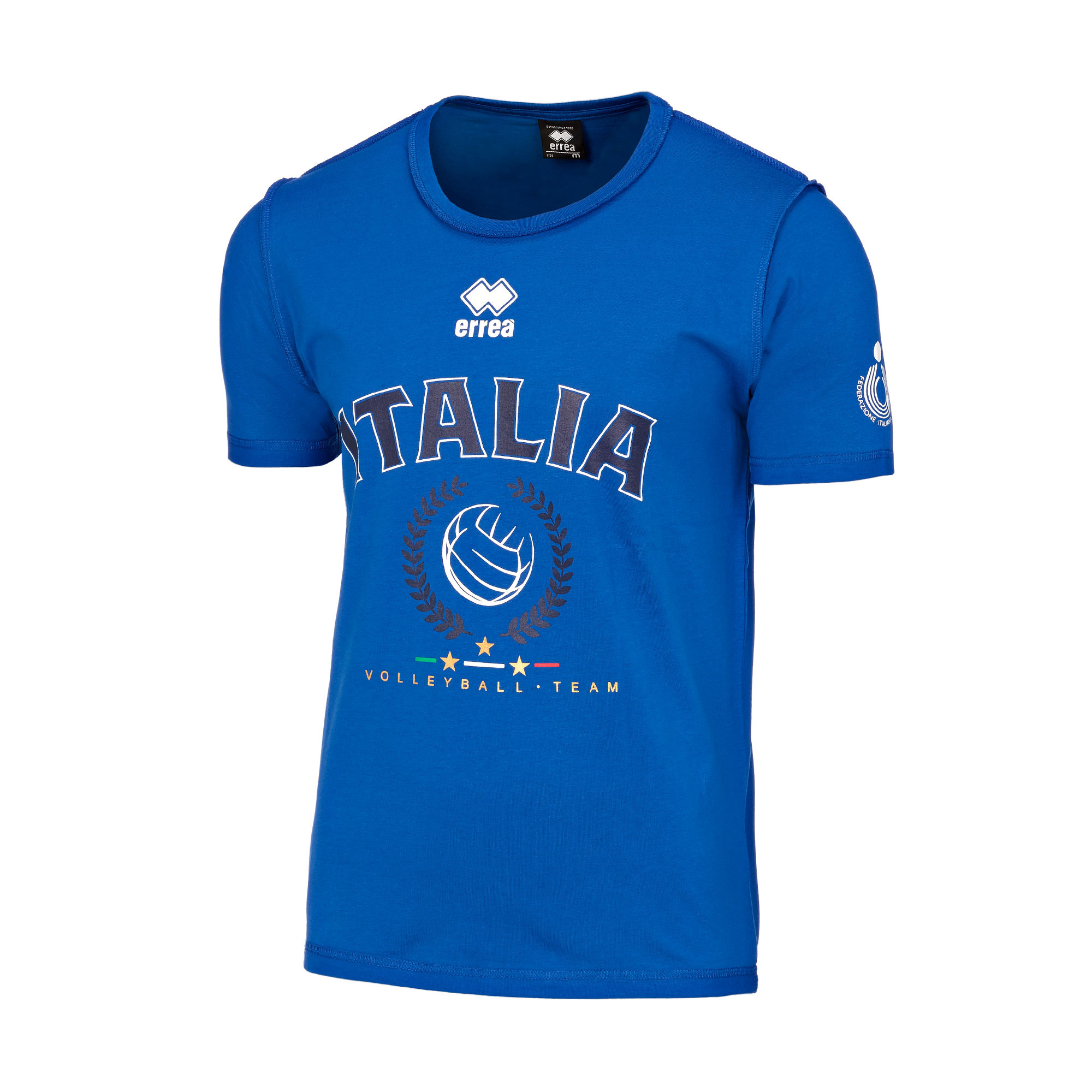 NAZ. ITALIA VOLLEY T-SHIRT ITALIA MC JR