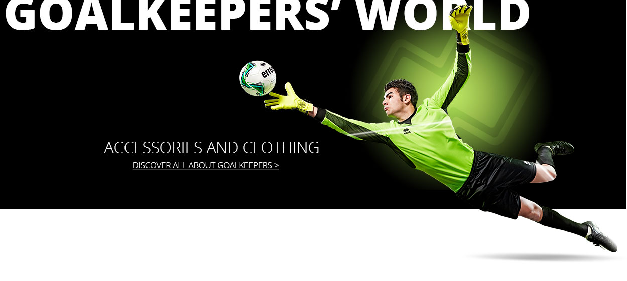 errea goalkeeper - shop now